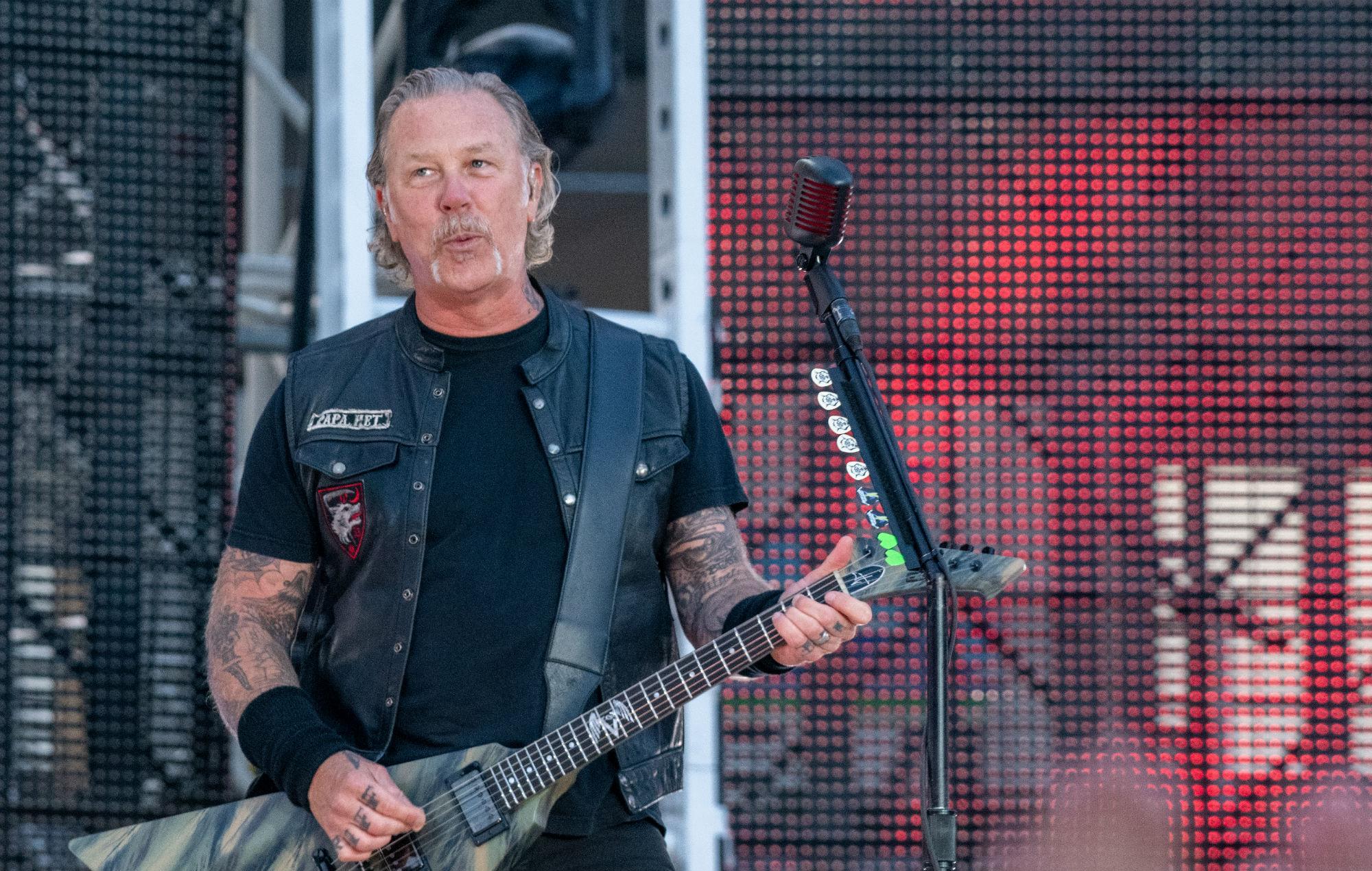 Metallica's James Hetfield