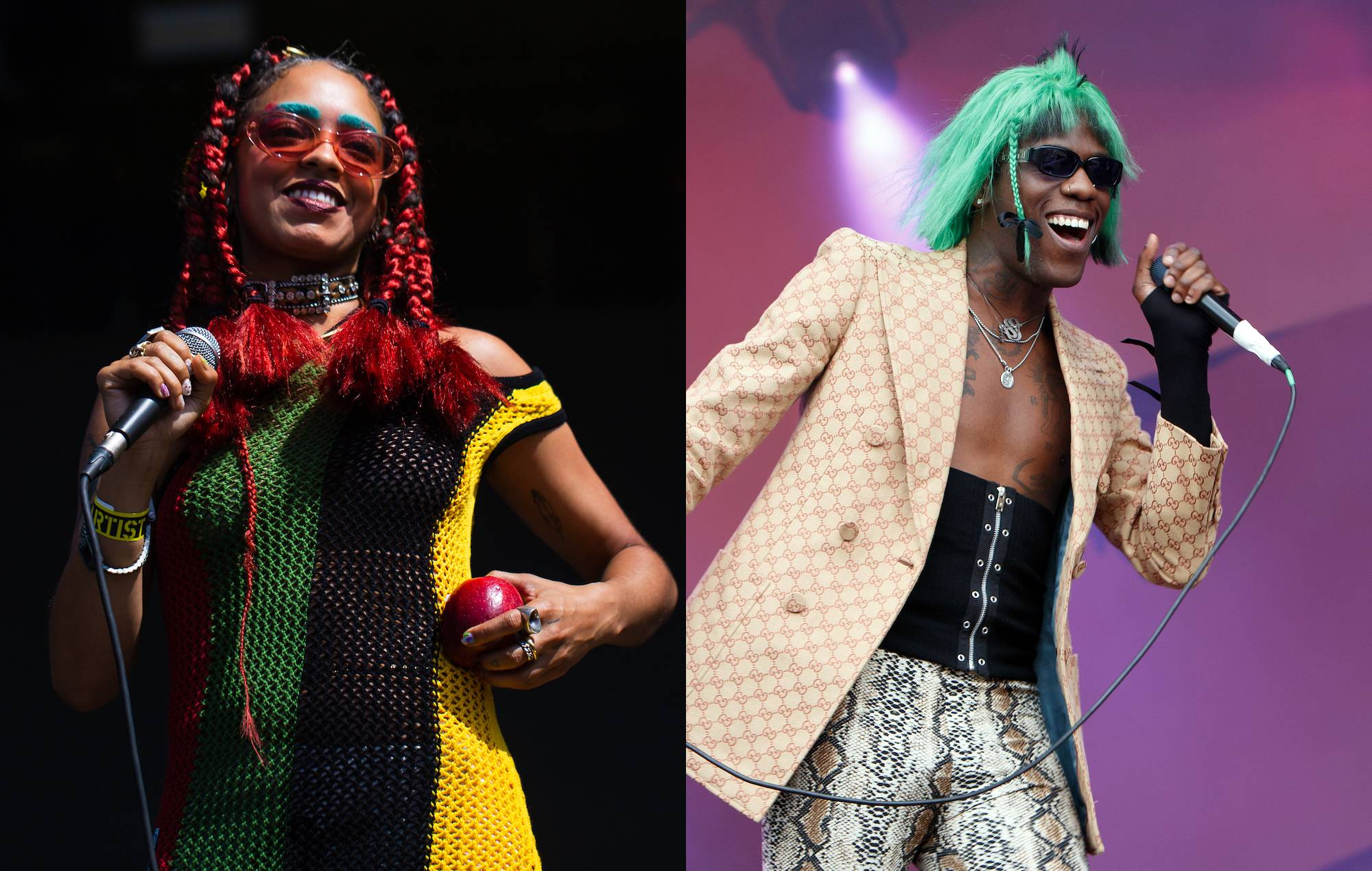 Kelsey Lu and Yves Tumor collaborate on atmospheric new song