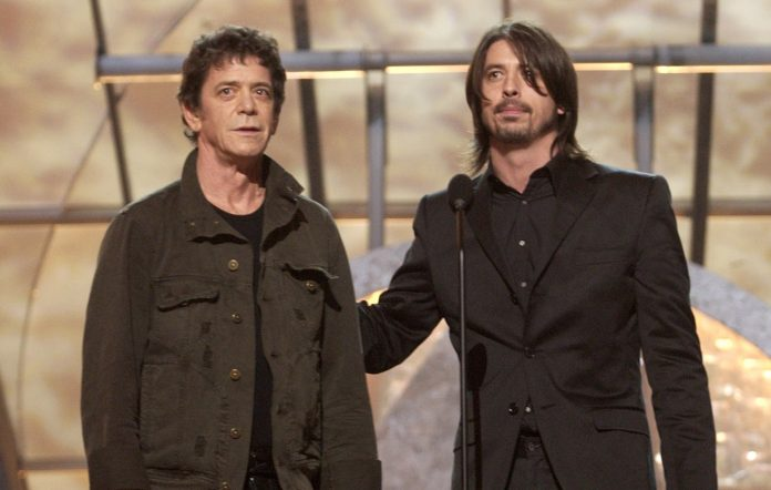 Dave Grohl Lou Reed