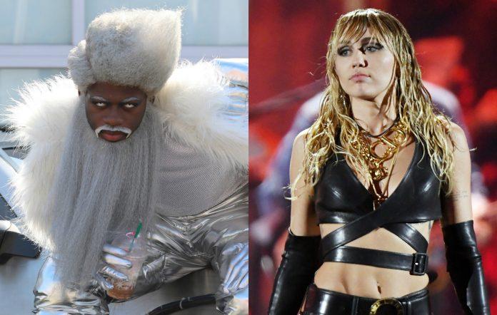 Lil Nas X Miley Cyrus Amazon livestream