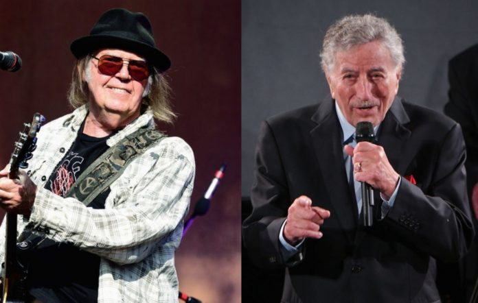Neil Young and Tony Bennett
