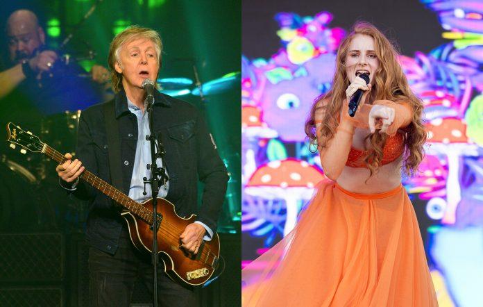 Paul McCartney and Vera Blue