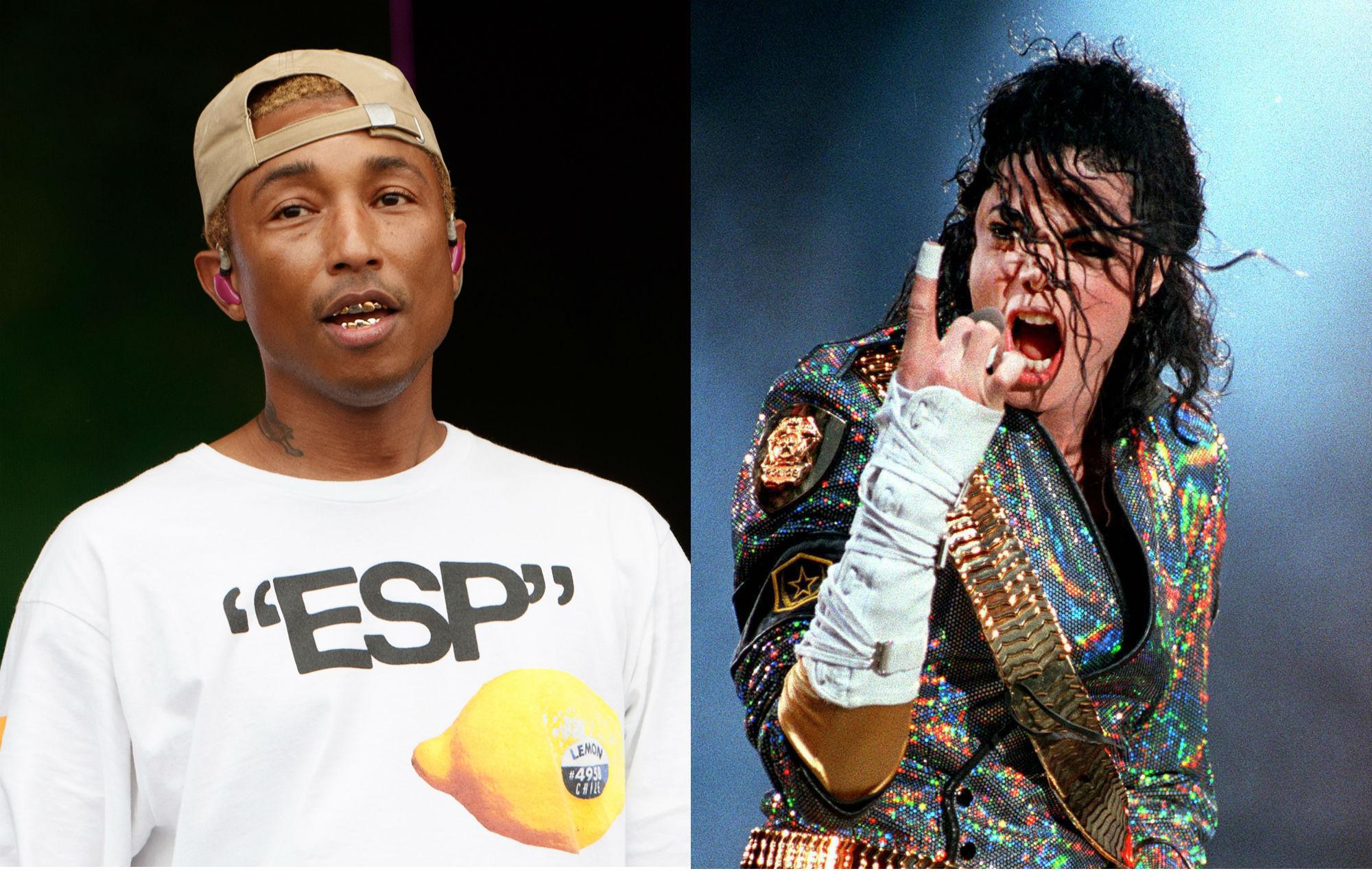 Pharrell says songs on Justin Timberlake's debut were written for Michael Jackson