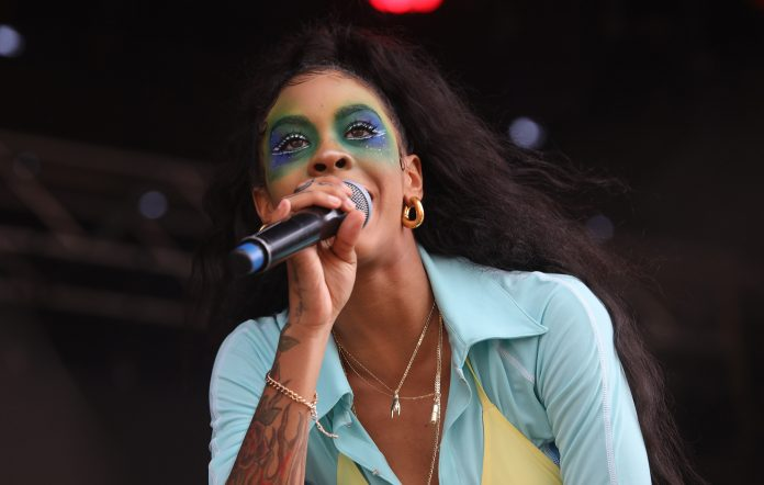 Rico Nasty performs at FOMO Festival 2020 in Auckland