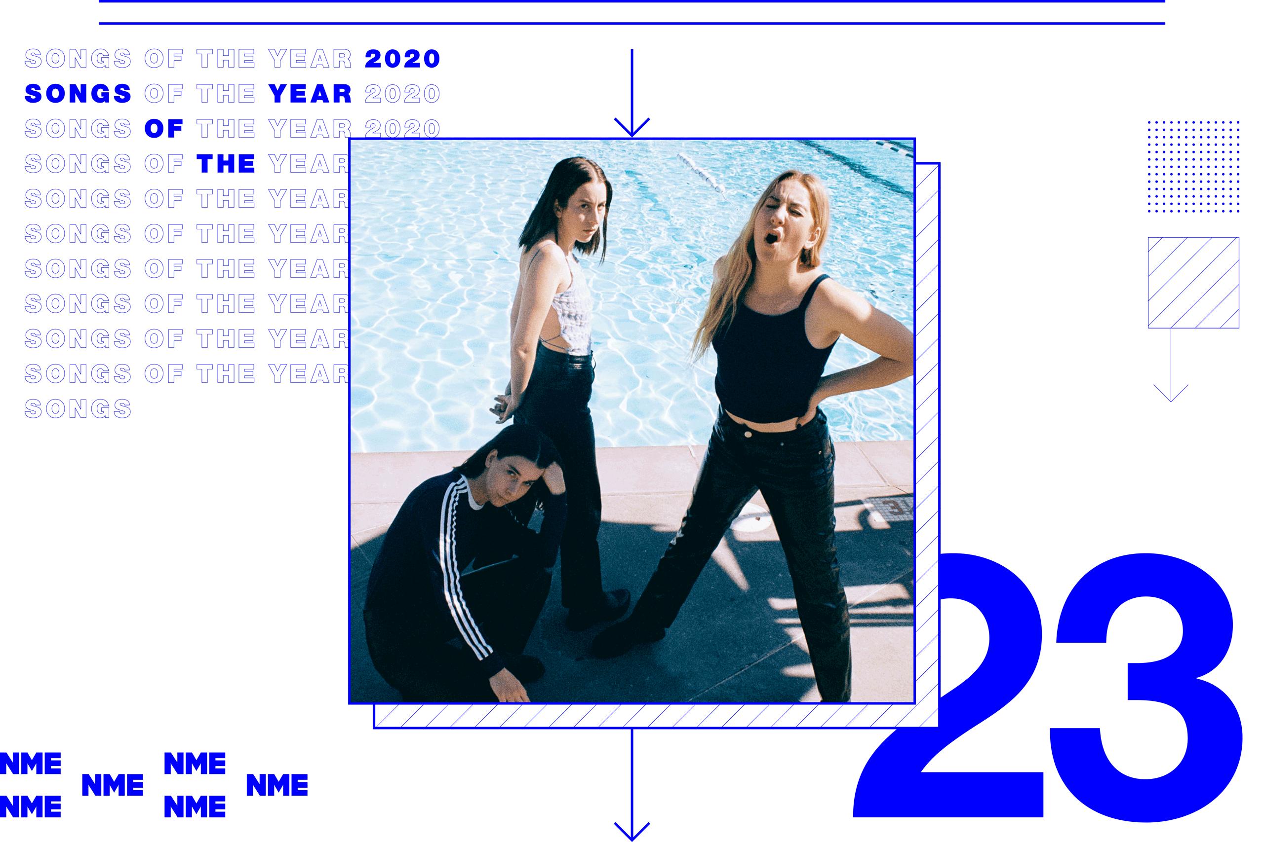 nme songs of the year HAIM – 'Steps