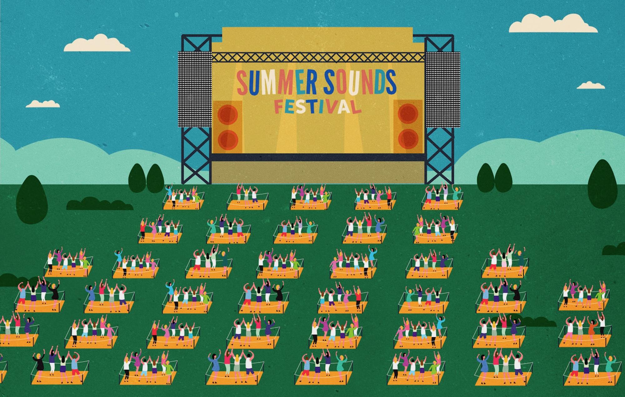 Summer Sounds Festival Adelaide 2020 2021