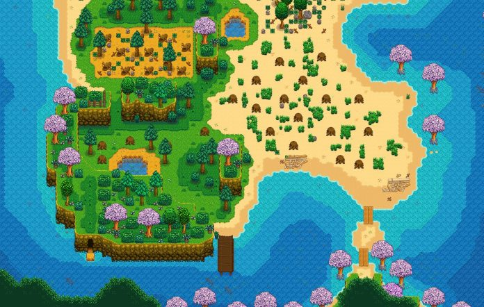 Stardew Valley Beach Farm