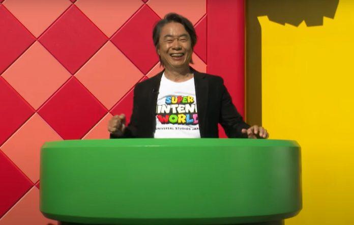Super Mario World Shigeru Miyamoto