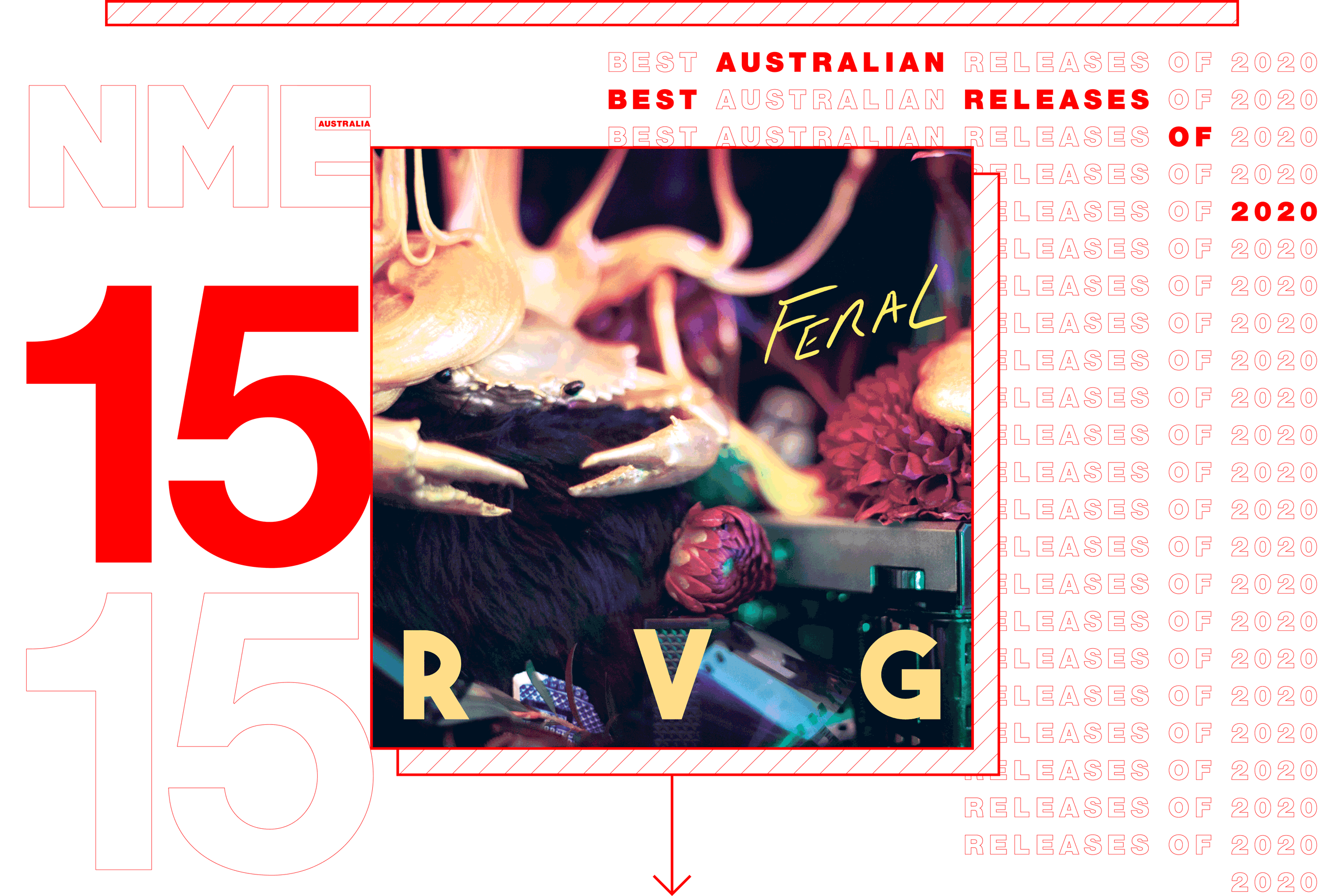 NME Australian Album Release 15