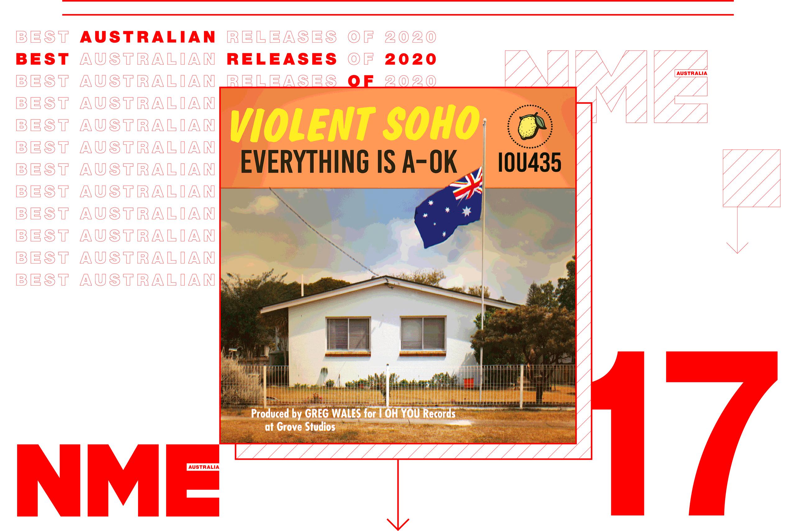 NME Australian Album Release 17