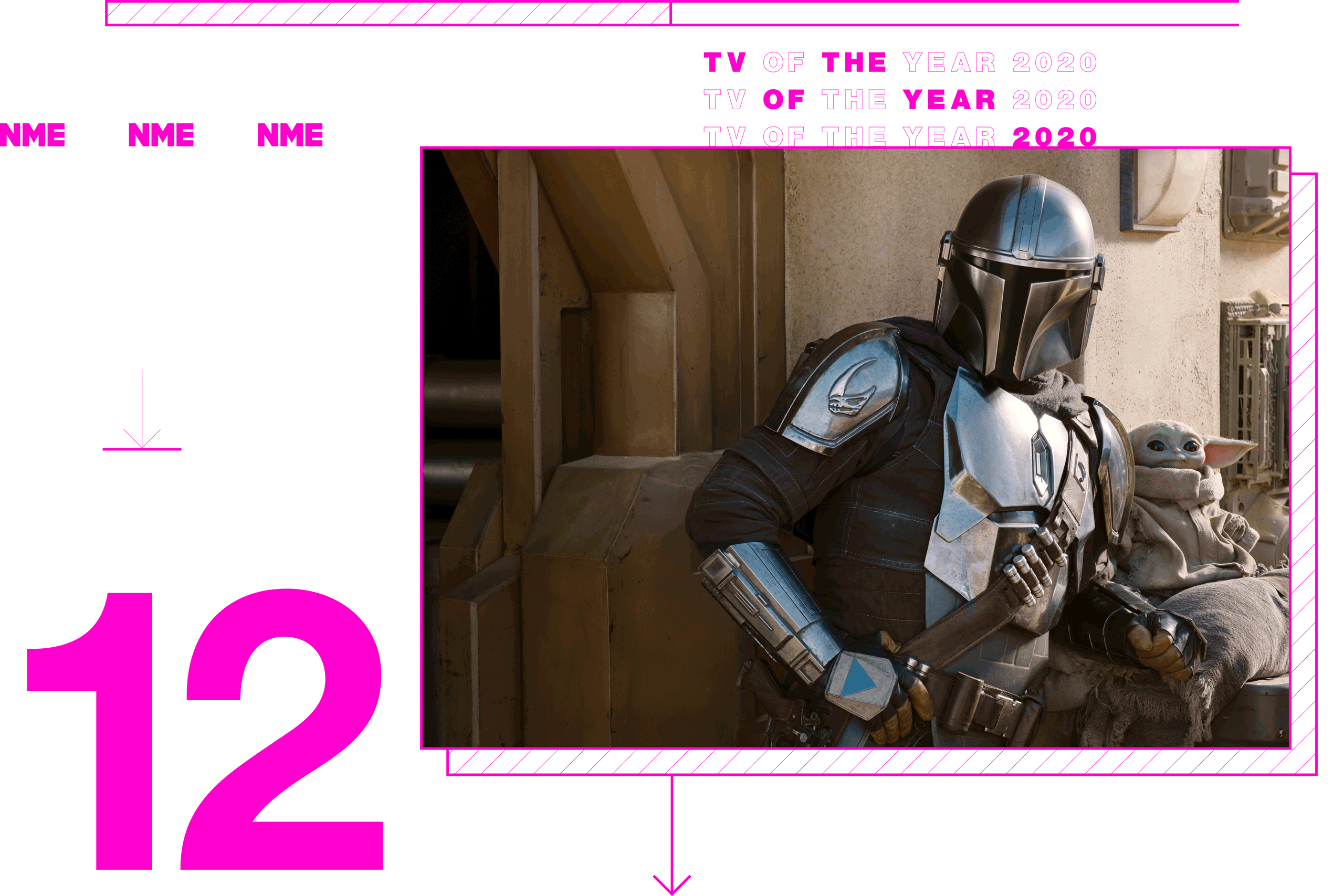 Tv Show of the year The Mandalorian