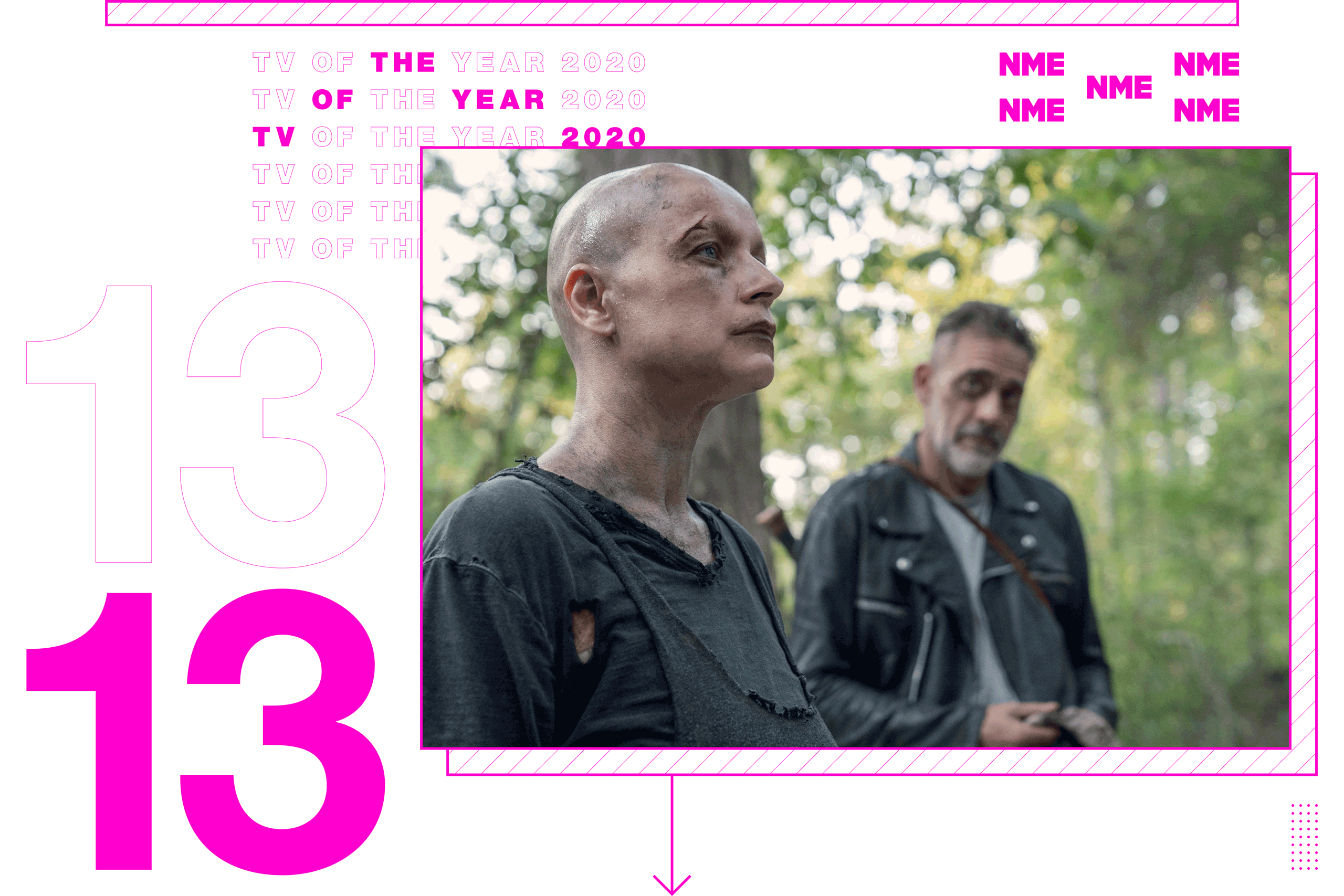 Tv Show of the year The Walking Dead