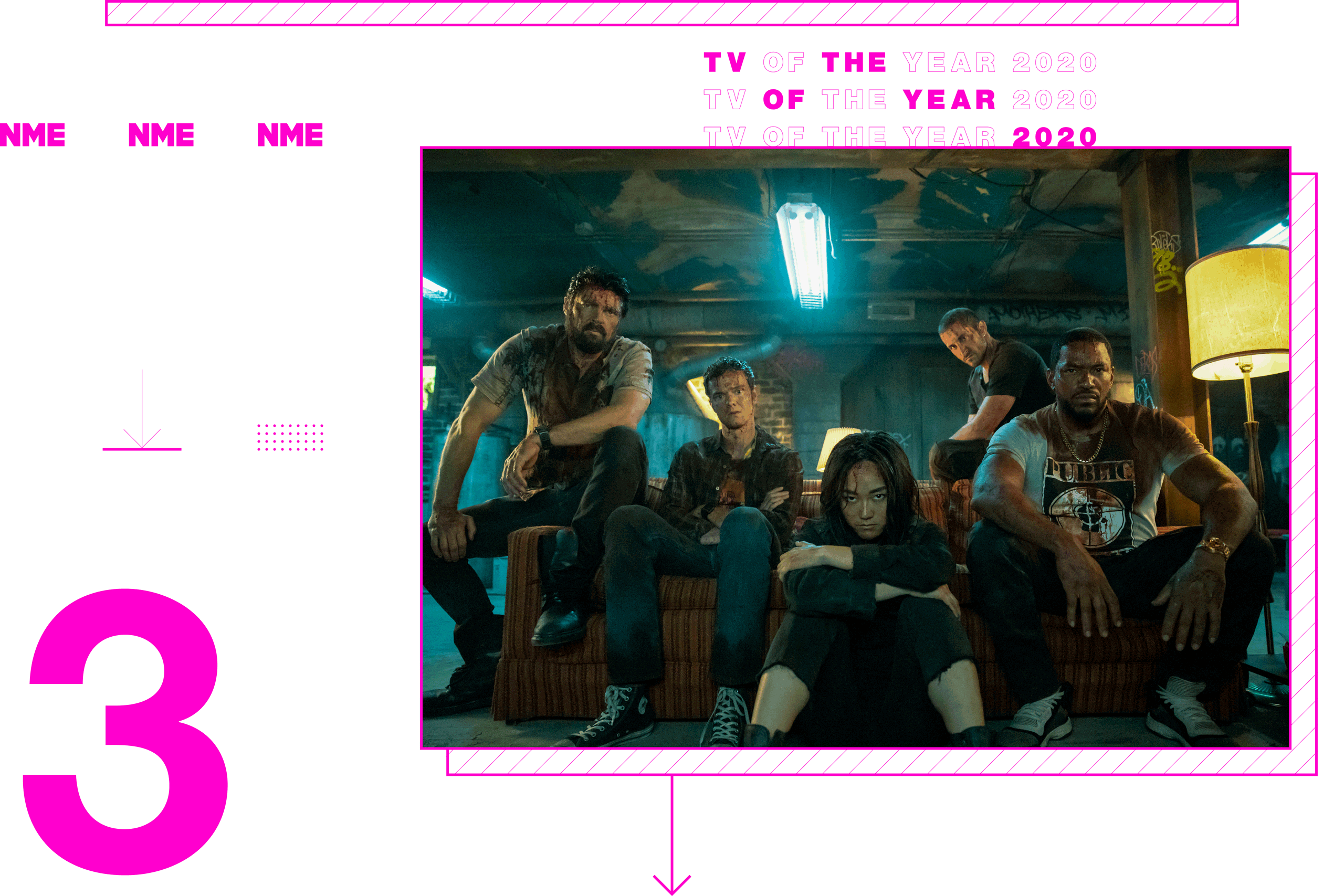 Tv Show of the year The Boys