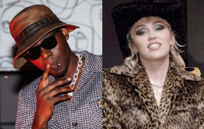 Theophilus London and Miley Cyrus