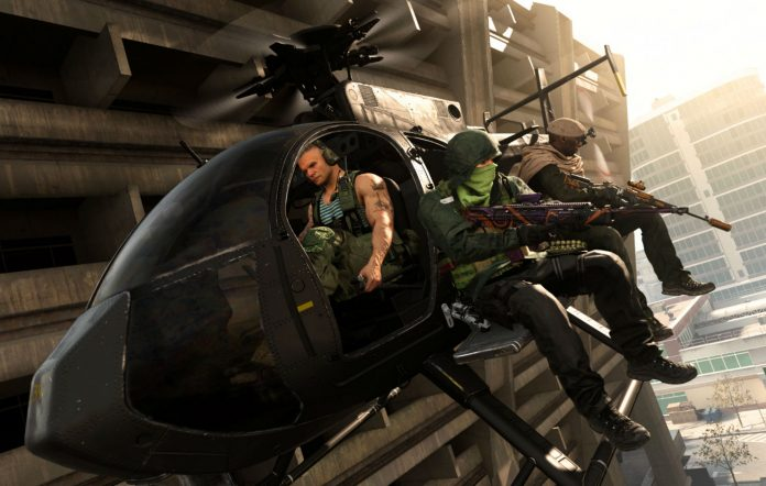 Call Of Duty: Warzone Heli