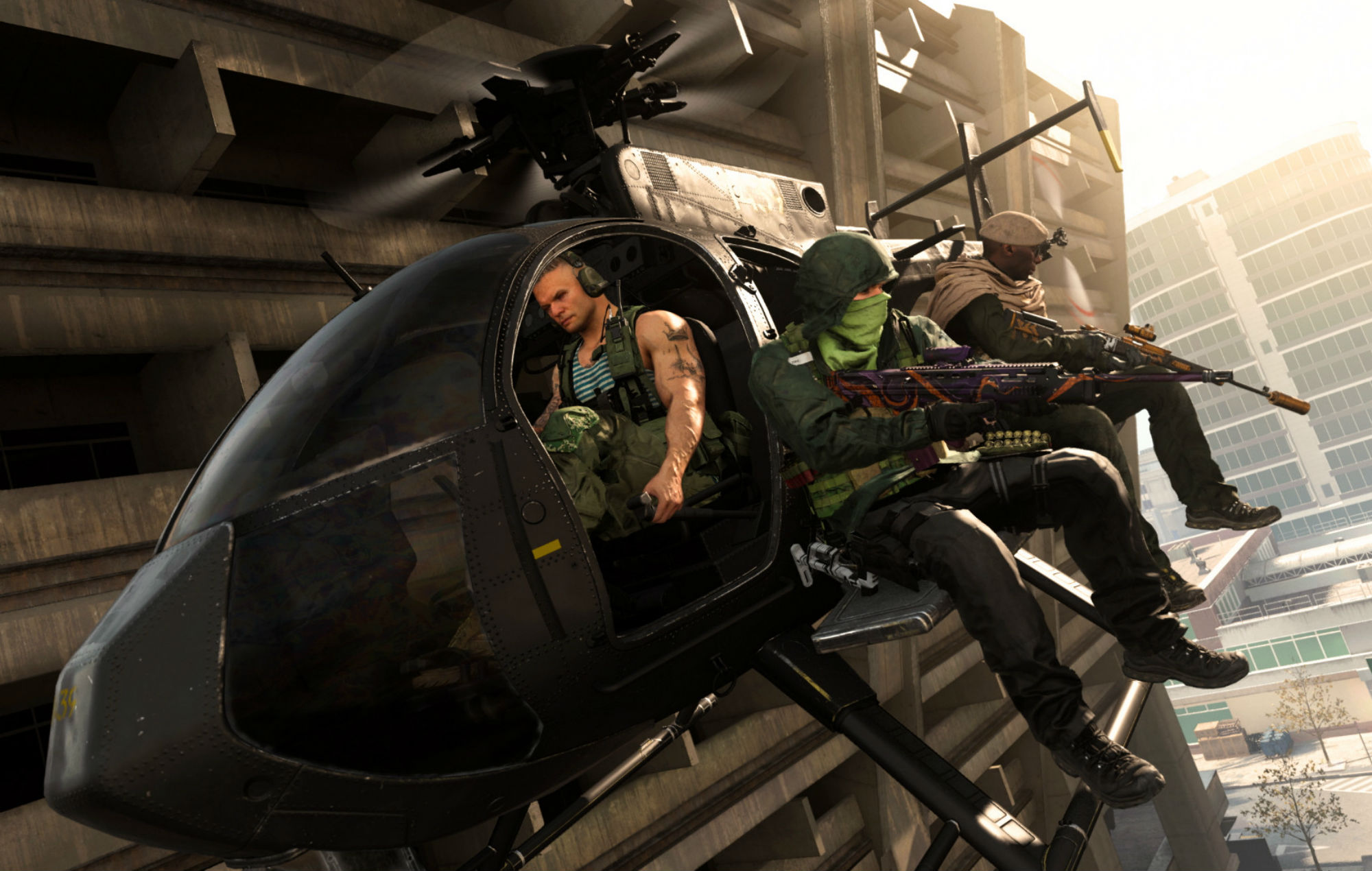 Call Of Duty: Warzone Heli from Raven Softward