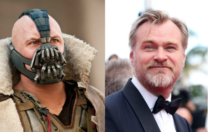 'The Dark Knight Rises' Bane and Christopher Nolan
