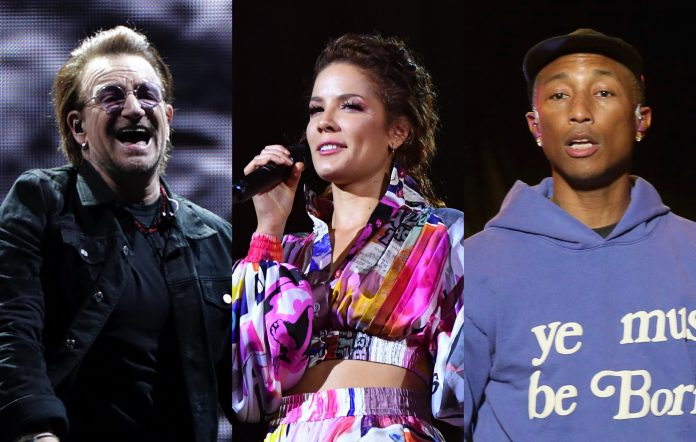bono halsey pharrell williams sing 2 cast