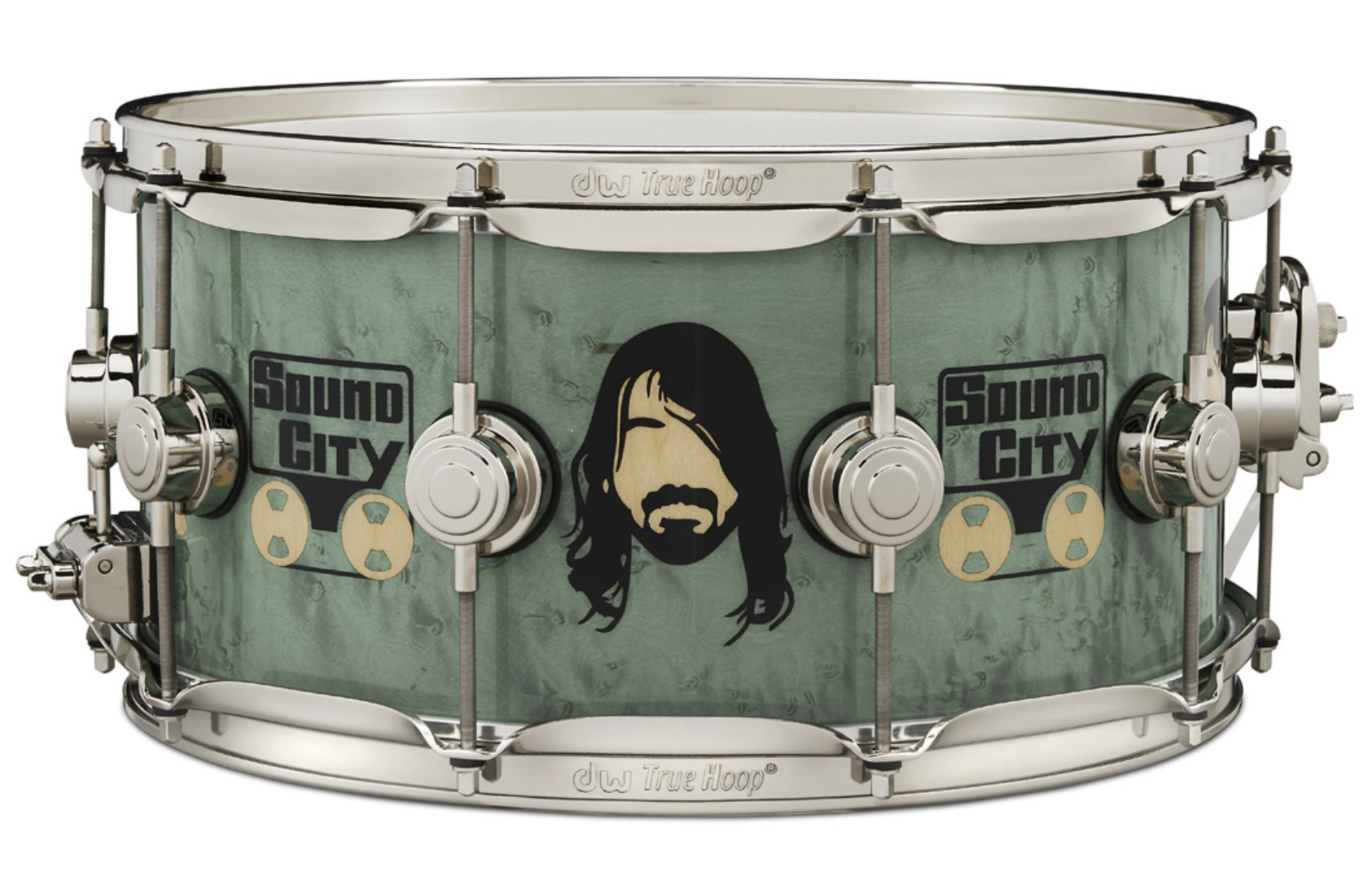 DW Drums unveil limited edition Dave Grohl ICON snare drum