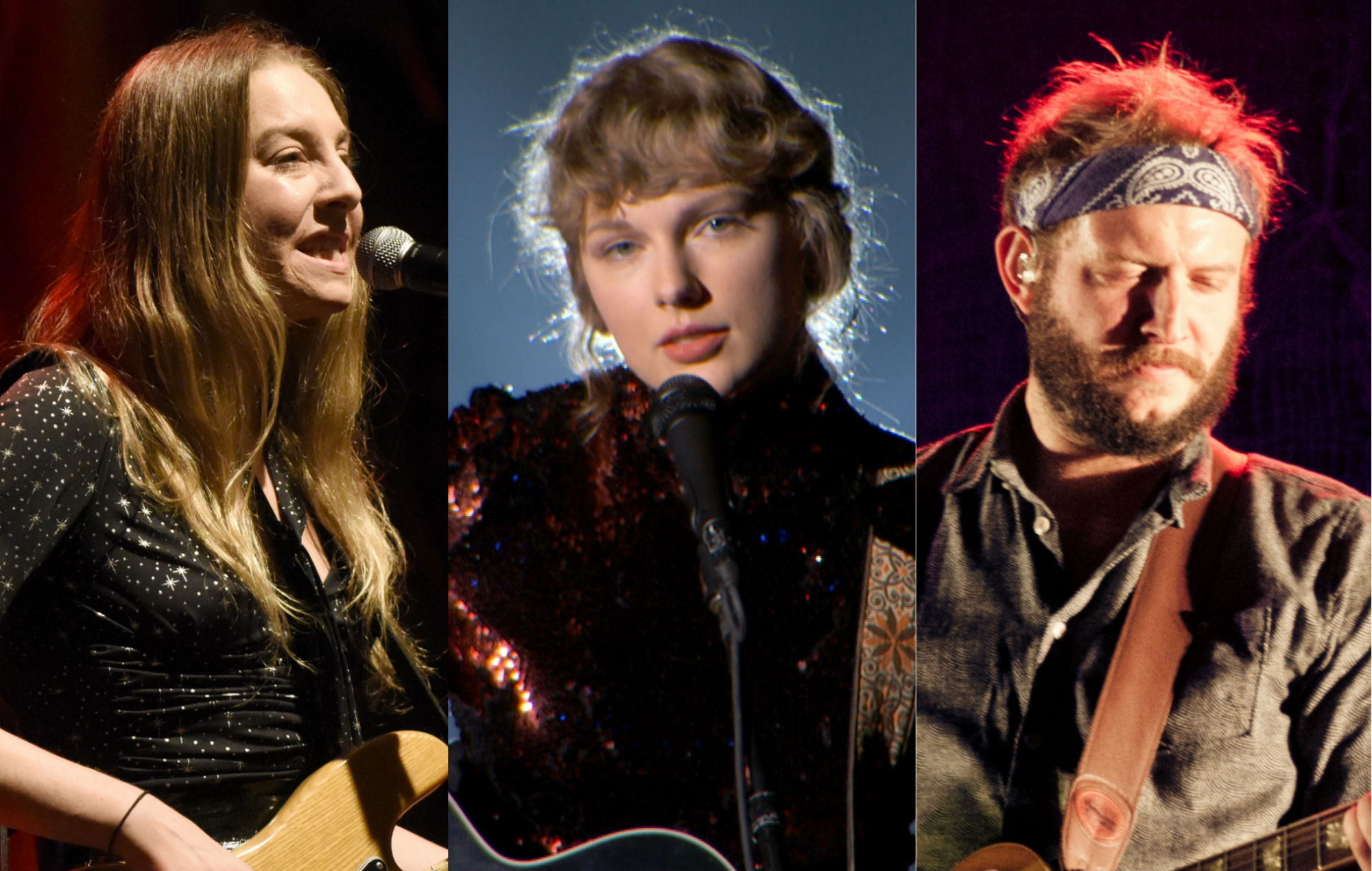 "Taylor Swift's 'Evermore': Bon Iver ""honoured"", Haim play on 'no body, no crime' story"