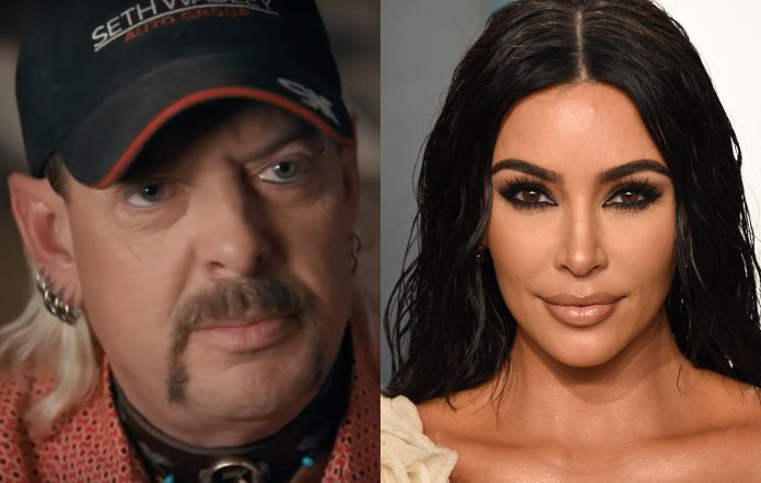 Joe Exotic Kim Kardashian