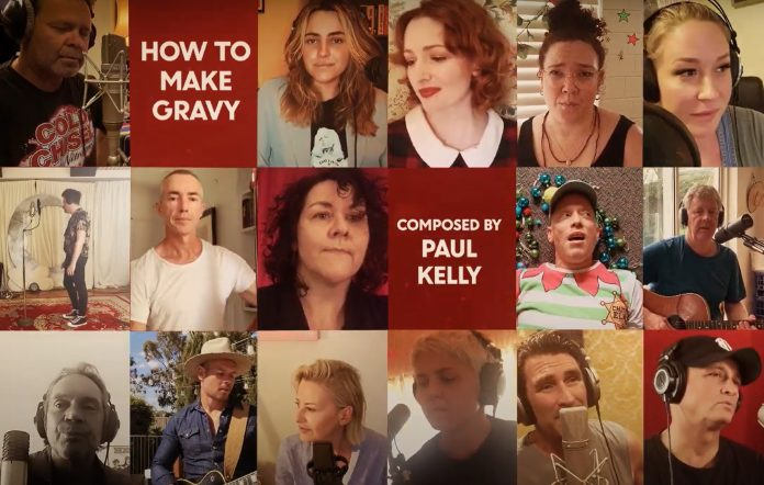 Watch Urthboy, Leah Flanagan and more team up for a cover of Paul Kelly's 'How To Make Gravy'