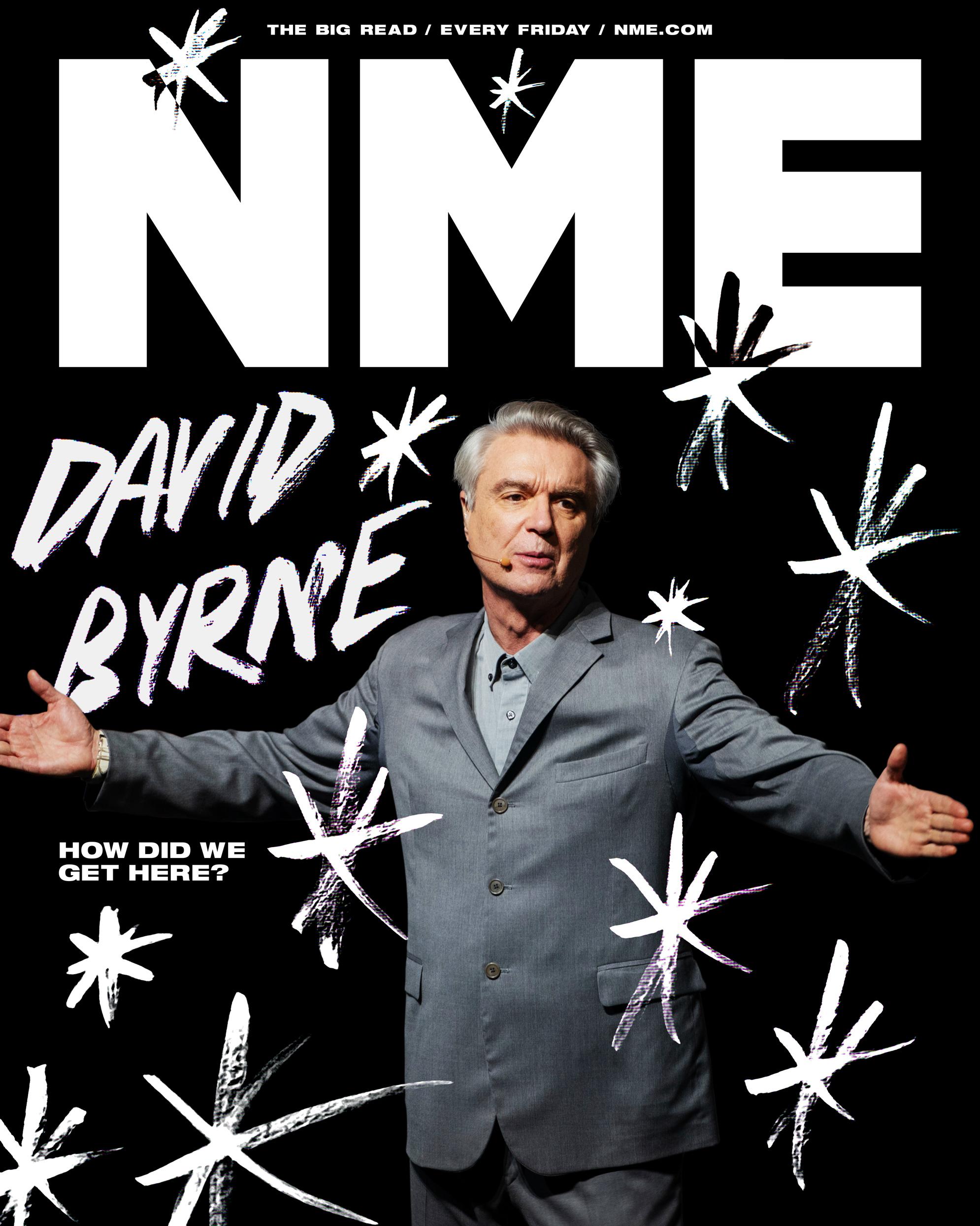 NME Cover David Byrne 2020