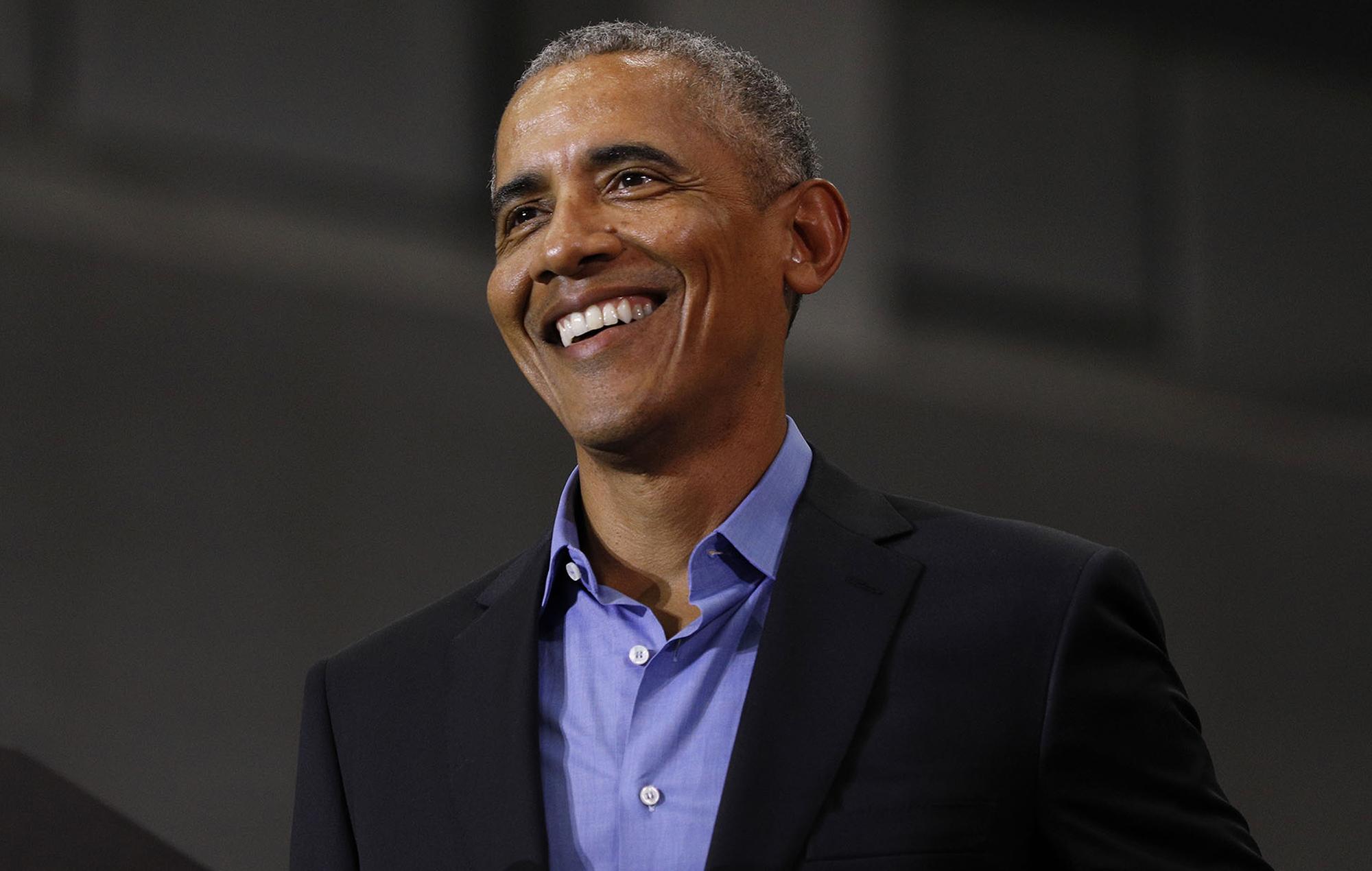 Barack Obama shares 44-track shower playlist