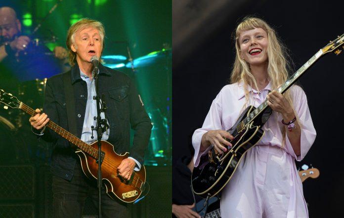 Paul McCartney and Alice Phoebe Lou