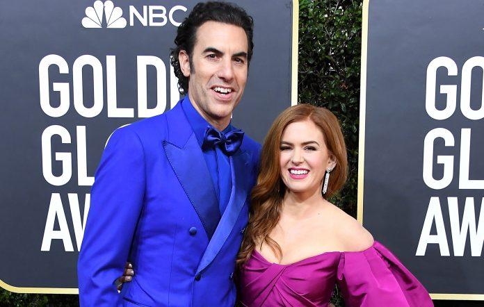 Sacha Baron Cohen Isla Fisher Borat