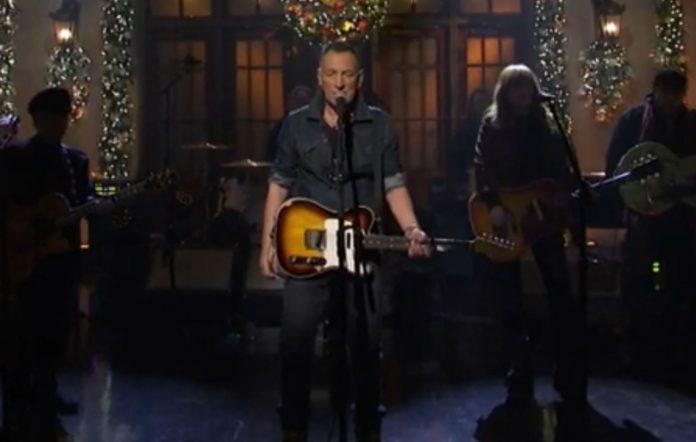 Bruce Springsteen on 'SNL'