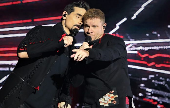 Kevin Richardson and Brian Littrell
