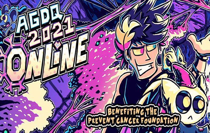 AGDQ 2021 Charity Livestream. Image Credit: AGDQ