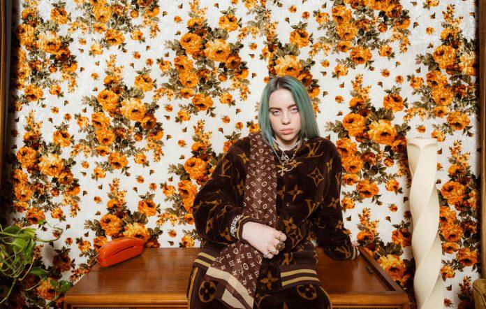 Billie Eilish shot for NME