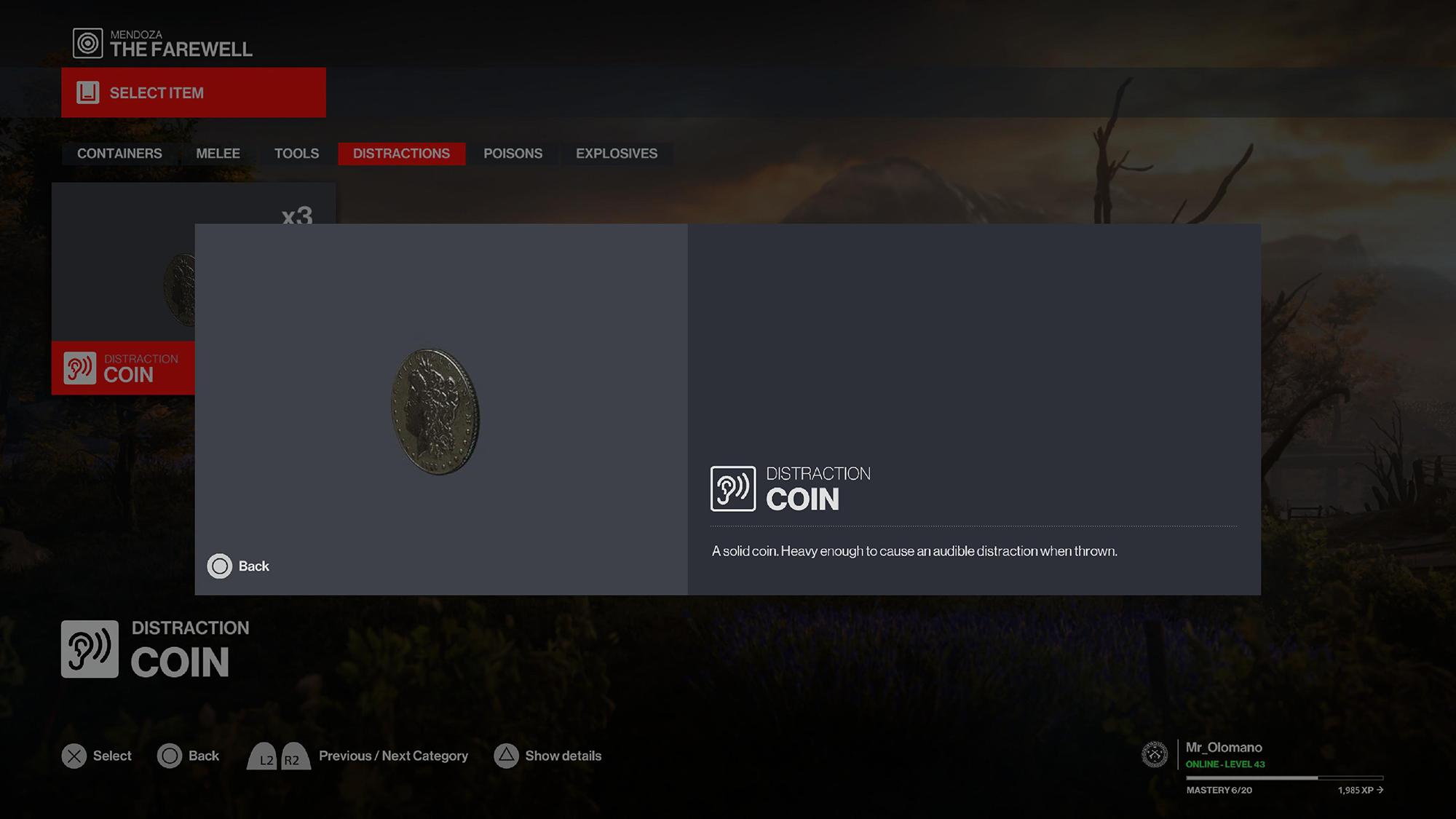 Hitman 3 Coin