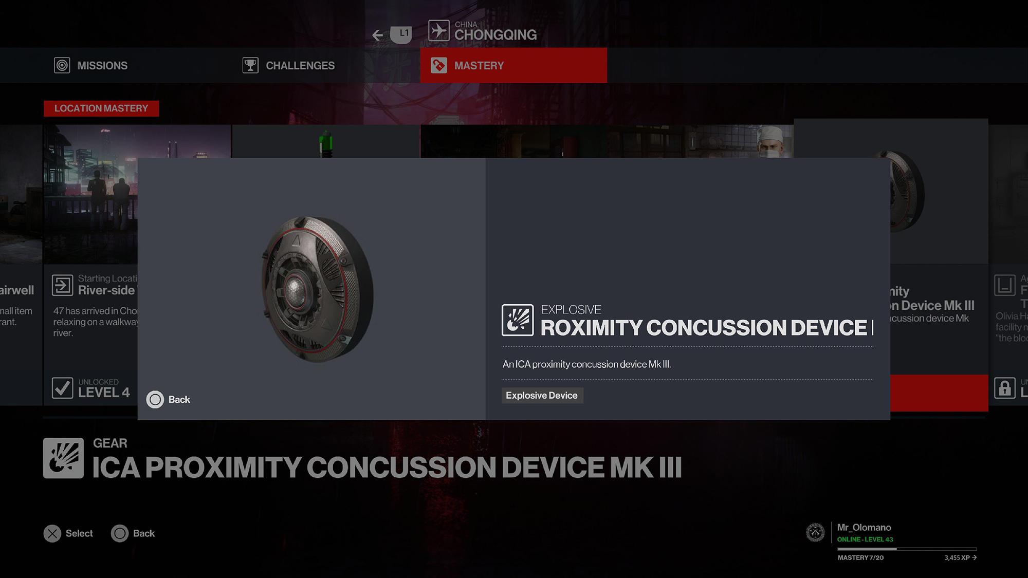 Hitman 3 Concussion
