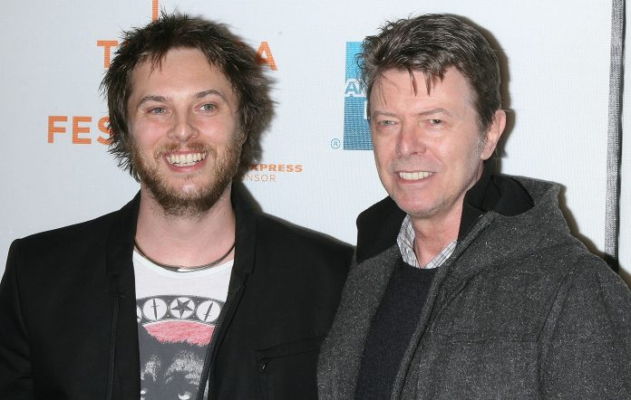 Director Duncan Jones and his father David Bowie