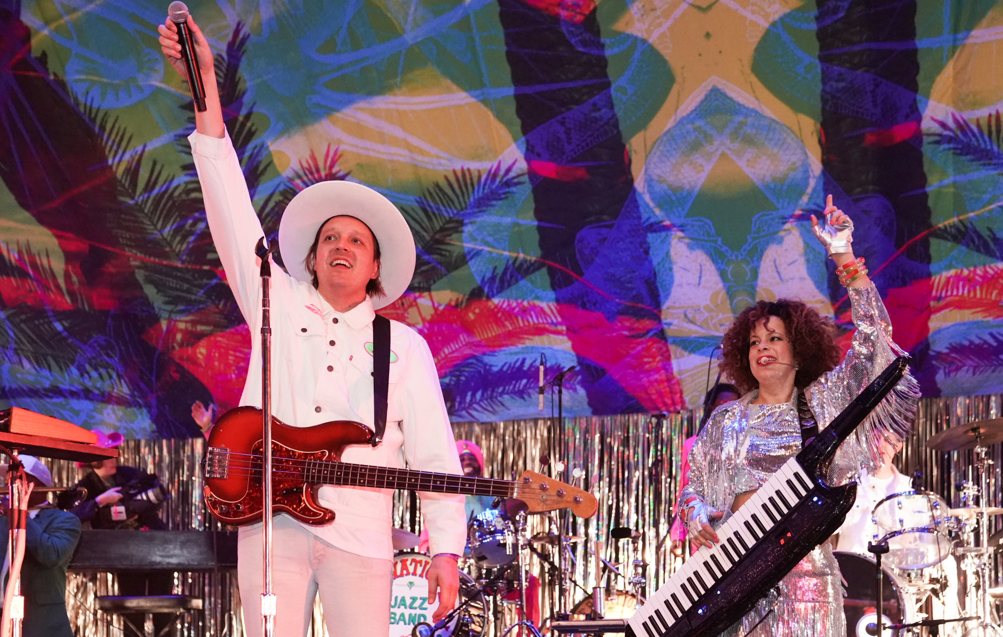 Arcade Fire's Win Butler and Régine Chassagne perform 'Afterlife' on climate change live-stream - NME