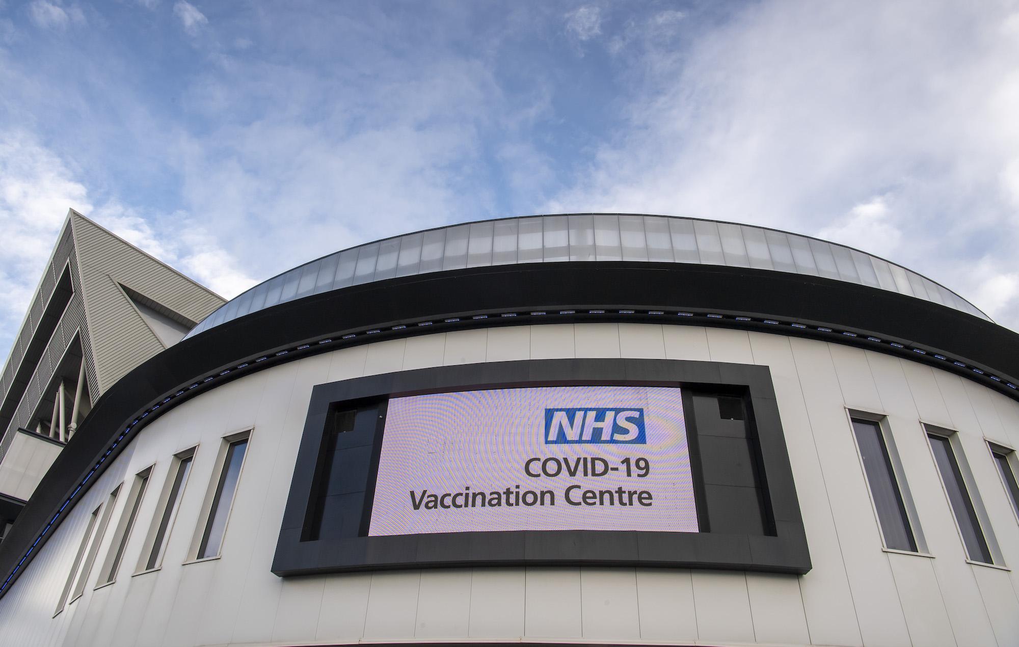 Coronavirus vaccination centre