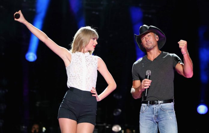 Taylor Swift and Tim McGraw