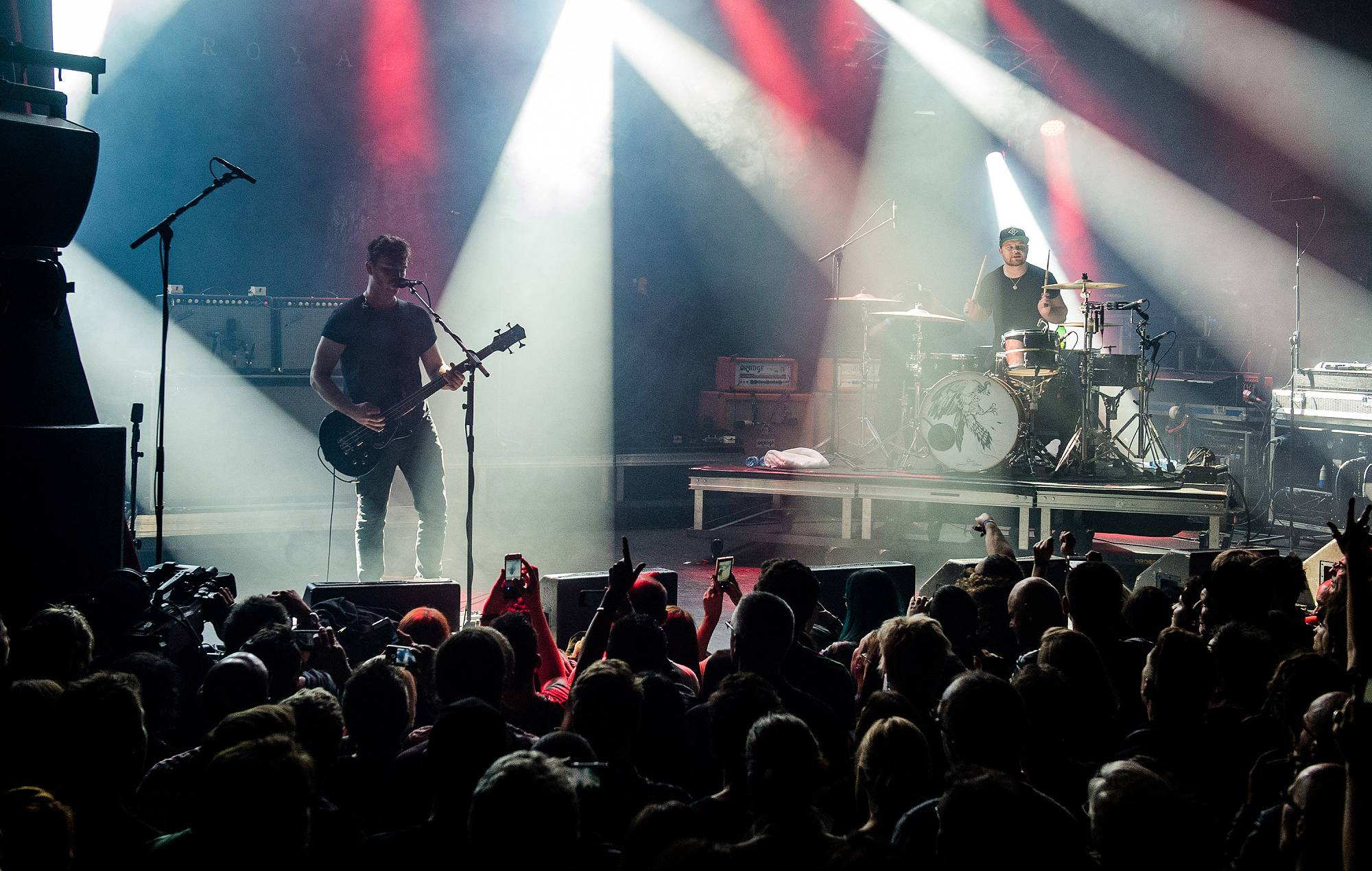 Royal Blood perform at La Cigale on November 16, 2014 in Paris, France. (Photo by David Wolff - Patrick/Redferns via Getty Images)