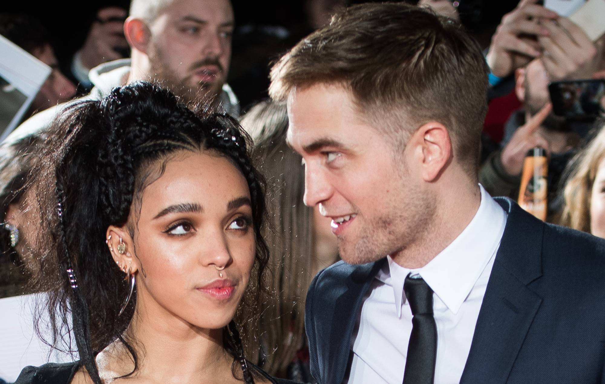 "FKA twigs opens up on ""horrific"" racial abuse she faced while dating Robert Pattinson"