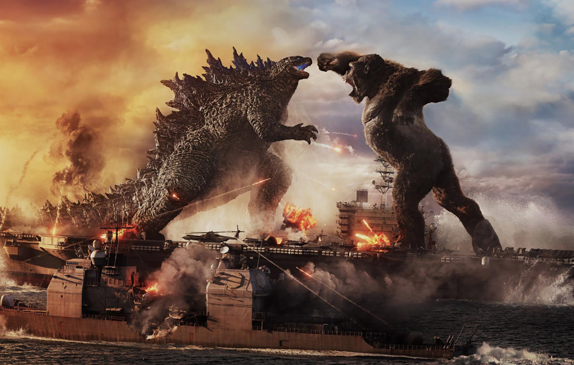 Godzilla Vs. Kong Warner Bros