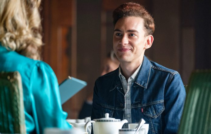 Olly Alexander as Ritchie Tozer in British TV Miniseries