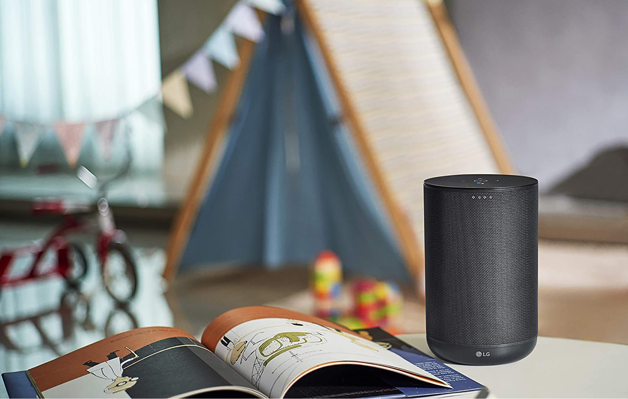 LG ThinQ Speaker WK7 with Google Assistant