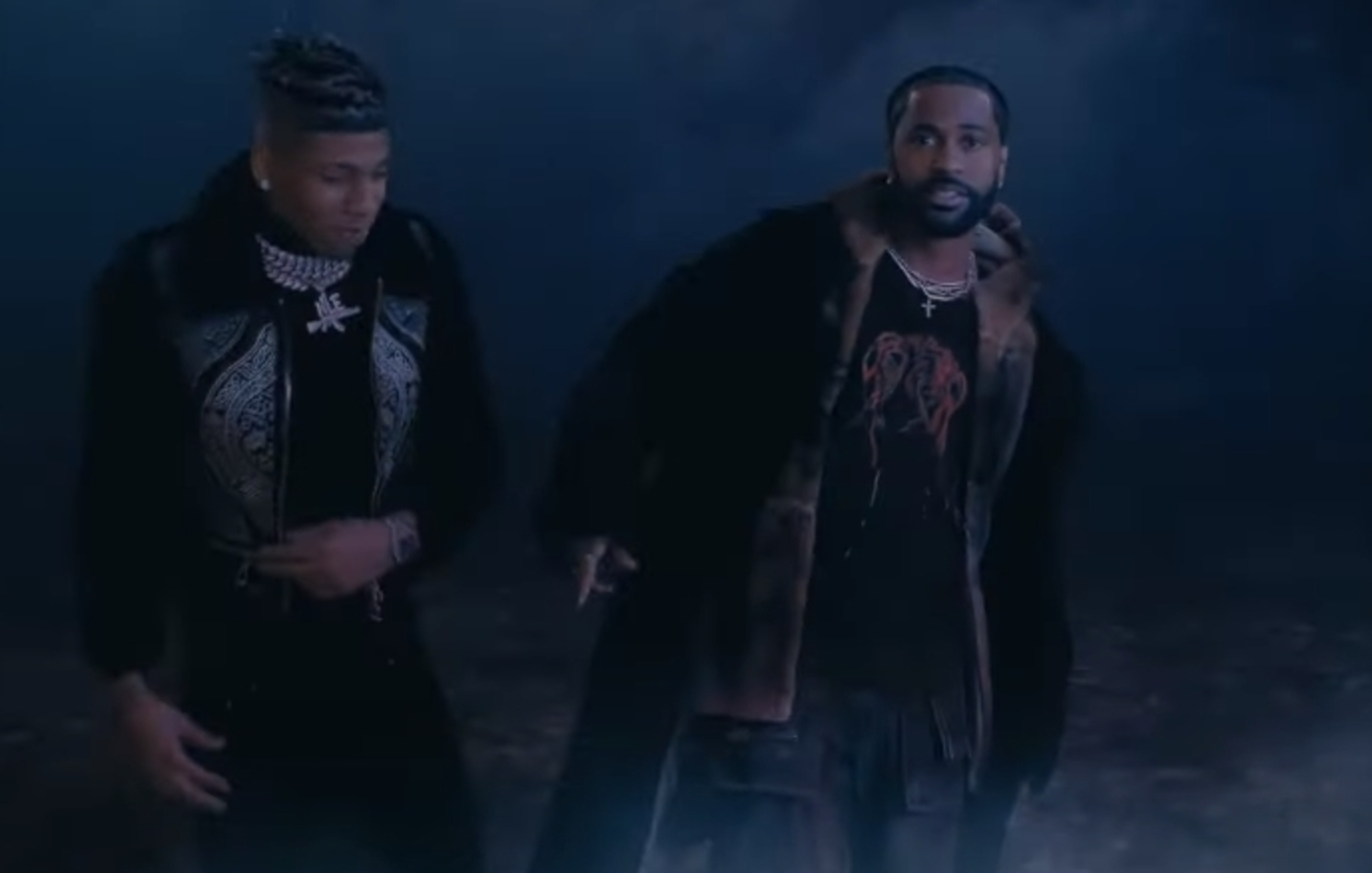 Watch Big Sean and NLE Choppa team up in video for 'Moonlight'