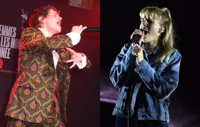 Christine & The Queens and London Grammar