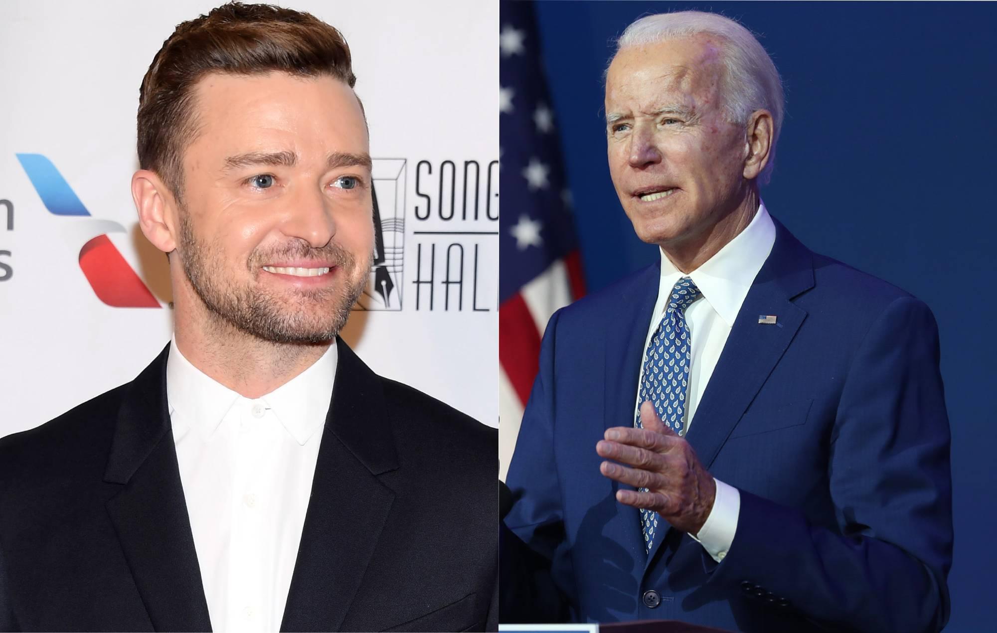 Justin Timberlake has written a new song to perform at Joe ...
