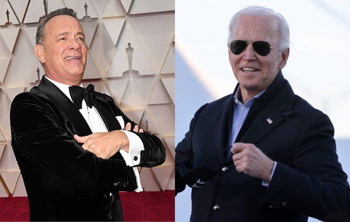 Tom Hanks / Joe Biden