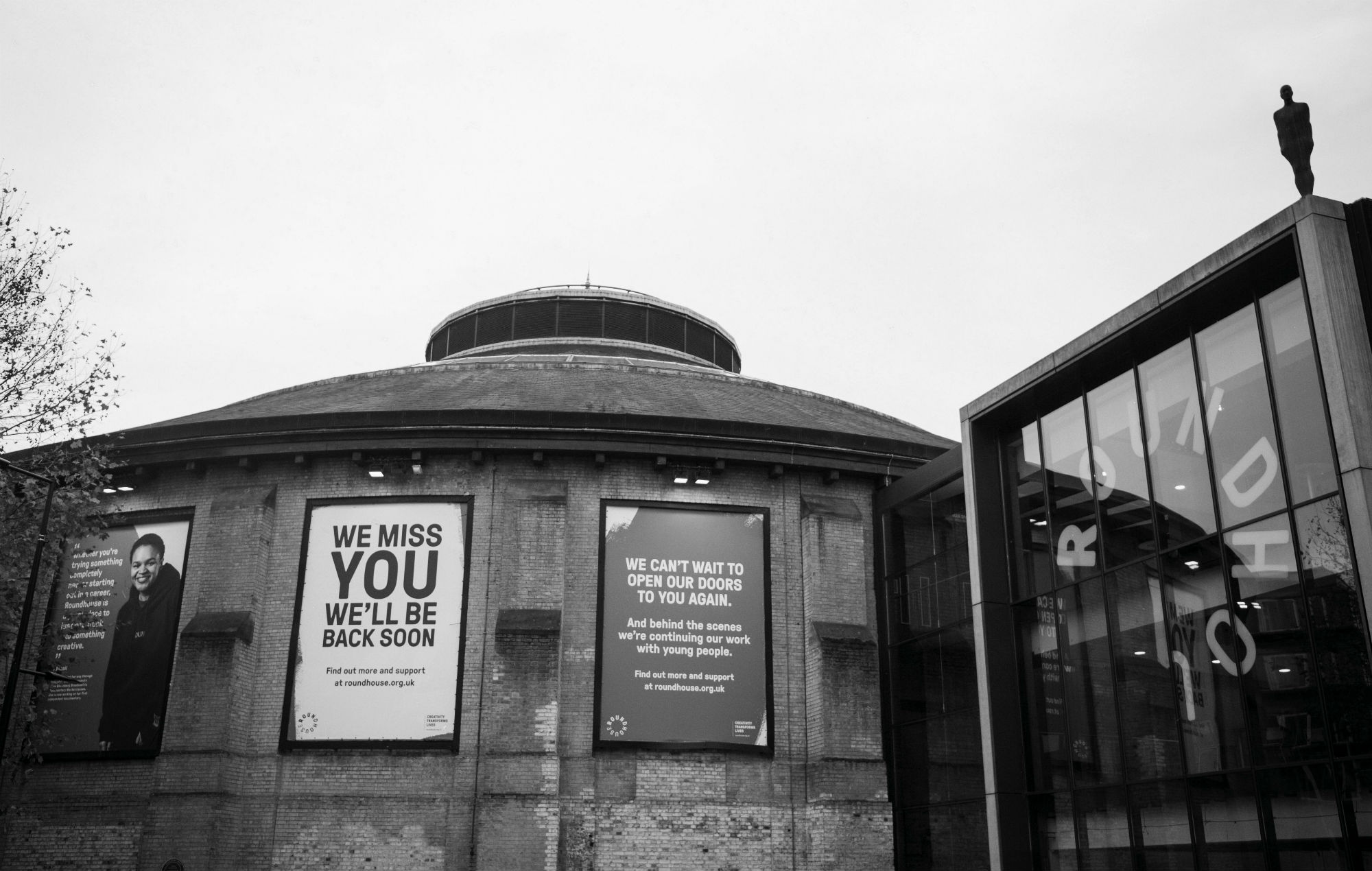 The Roundhouse in Camden #SaveOurVenues